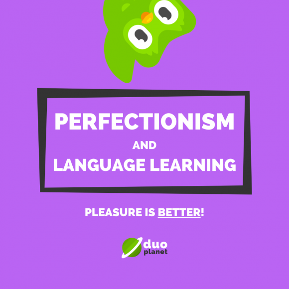 Perfectionism and language learning