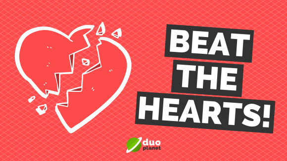 How to beat the heart system on Duolingo