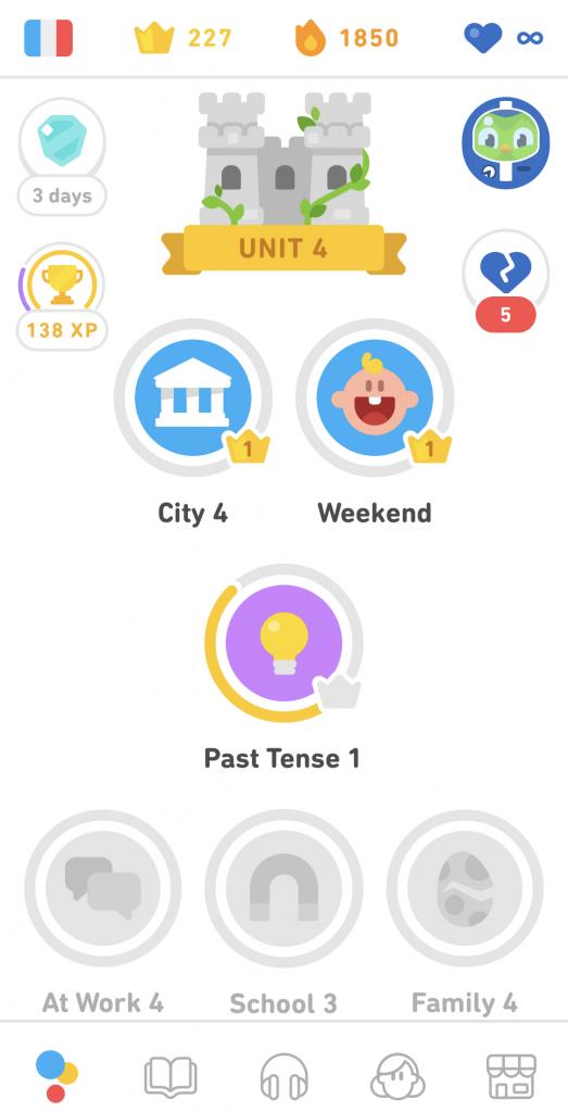 Duolingo Light Theme